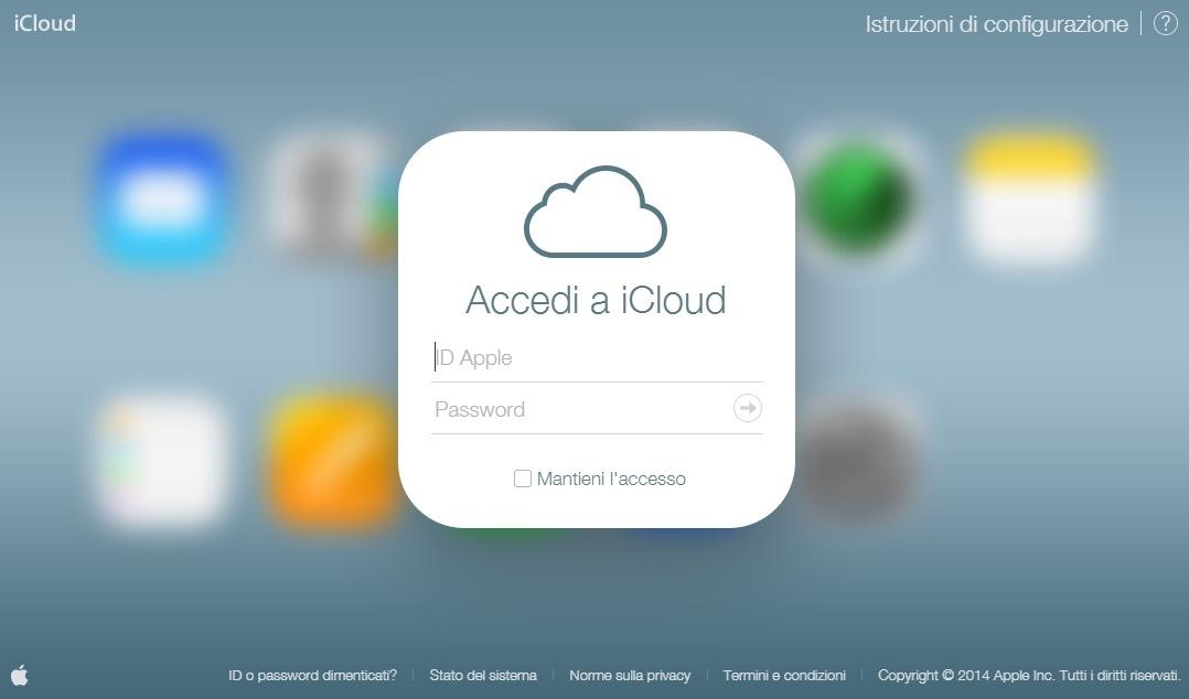 iCloud per controllare se l'iPhone è stato rubato