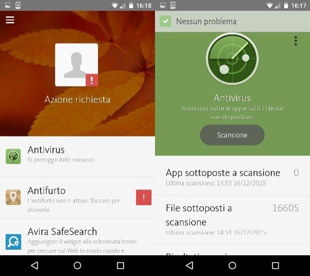 Avira Antivirus Security per Android: gratuito e con funzioni antifurto