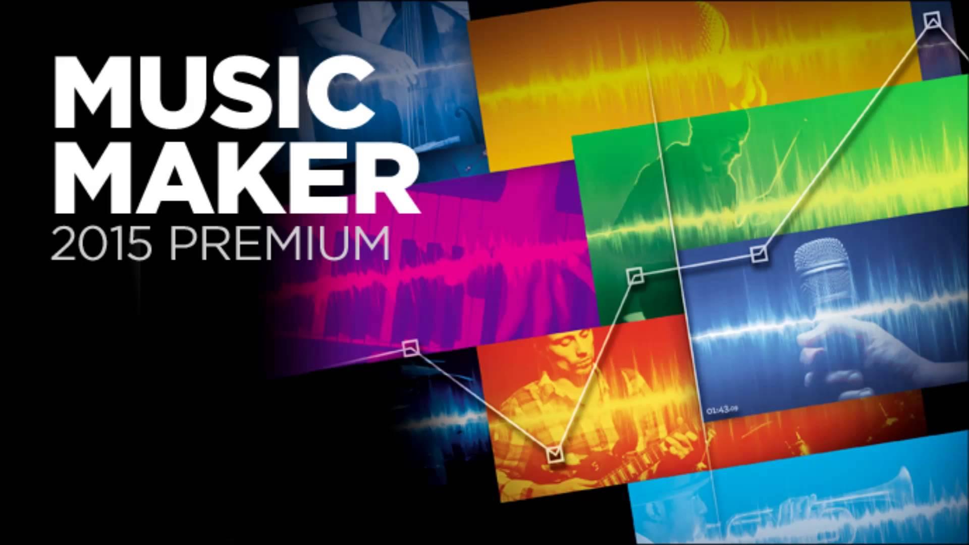 Crea il tuo studio di Registrazione con Music Maker 2015