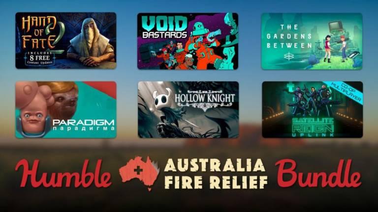 Humble Bundle per l'Australia, 25$ per un pacchetto di giochi da oltre 400$ devoluto interamente in beneficenza