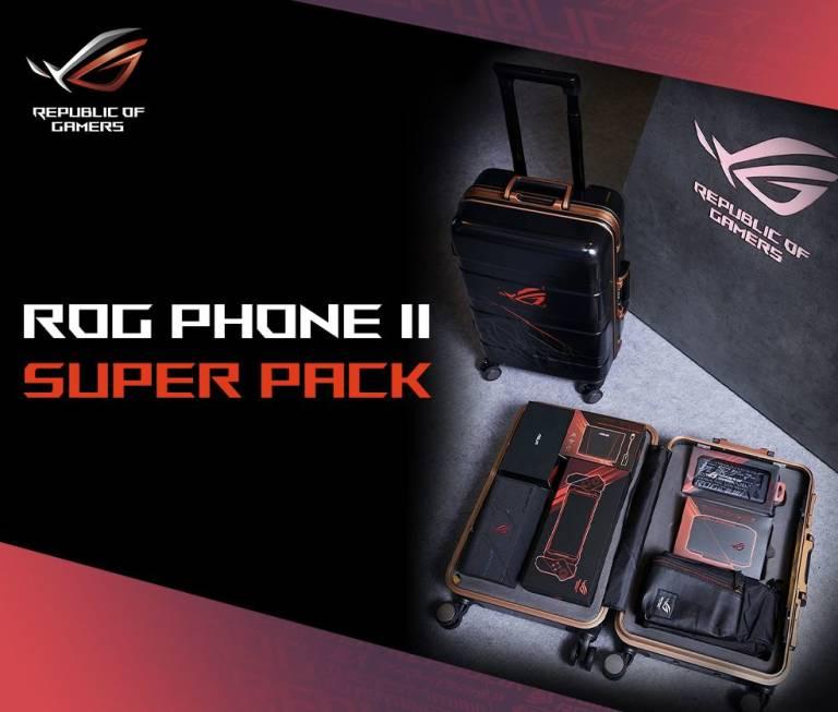 Asus ROG Phone 2 SuperPack: la valigia con accessori gaming arriva in Italia