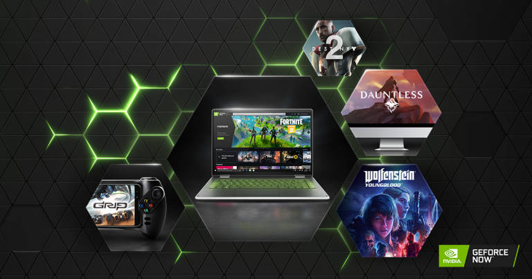 GeForce NOW: l'opzione Competitiva riduce la latenza del 30% rispetto a Google Stadia