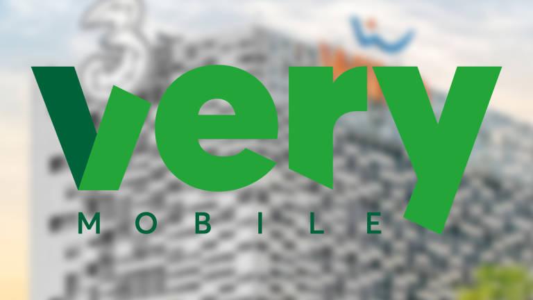 Very Mobile è il nuovo operatore virtuale di Wind Tre