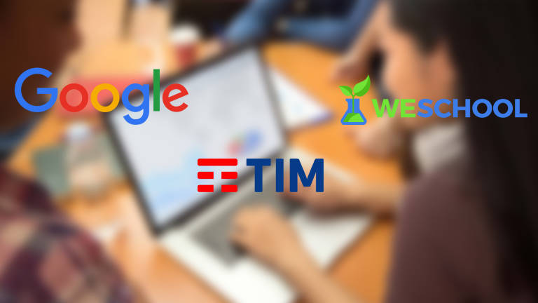 Google, TIM e WeSchool insieme per supportare la didattica a distanza