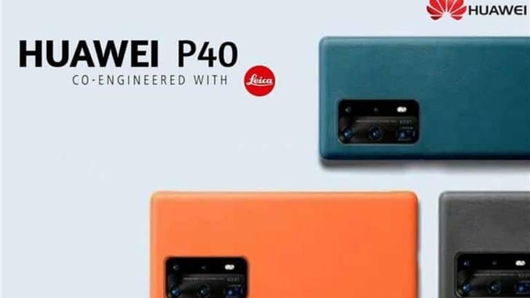 Huawei P40, trapelano online cinque colorazioni