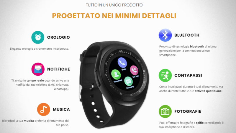 X Fun Watch, l'orologio inteligente low cost