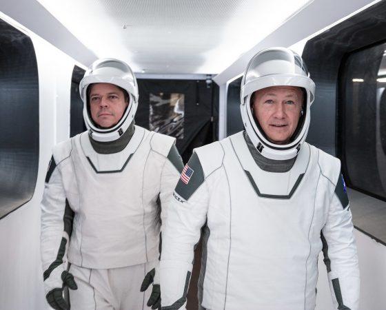 Controlli Touchscreen per gli astronauti dello SpaceX