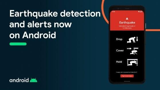 Lo smartphone con Android diventa un sismografo
