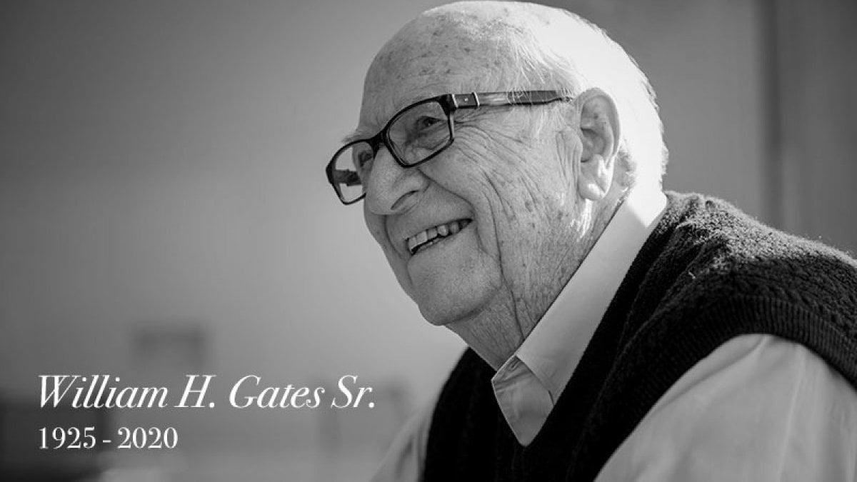 """Morto il padre di Bill Gates, William: aveva 94 anni. In un libro di memorie definì il figlio """"capriccioso"""""""