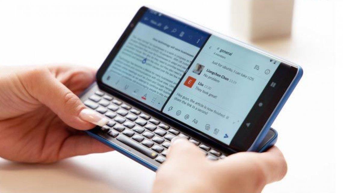 Pro1 X, lo smartphone con tastiera fisica e doppio sistema operativo