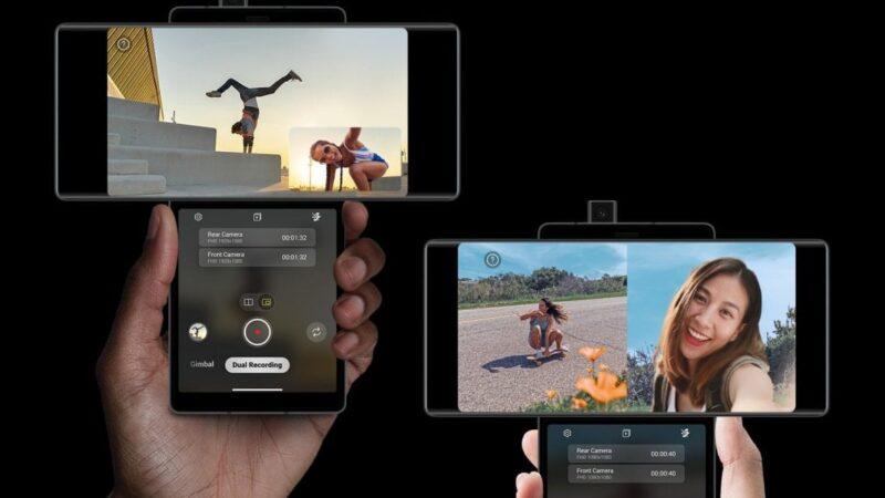 LG Wing, il primo smartphone con lo schermo che si apre a forma di T