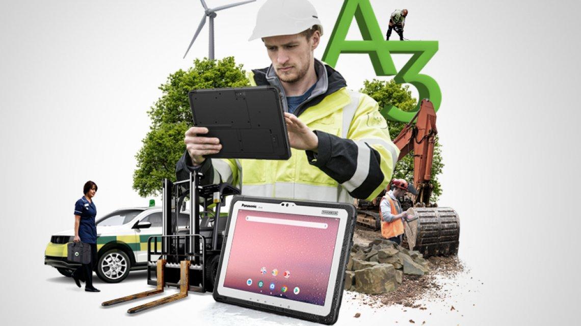 Panasonic Toughbook FZ A3, il tablet super resistente per un uso estremo