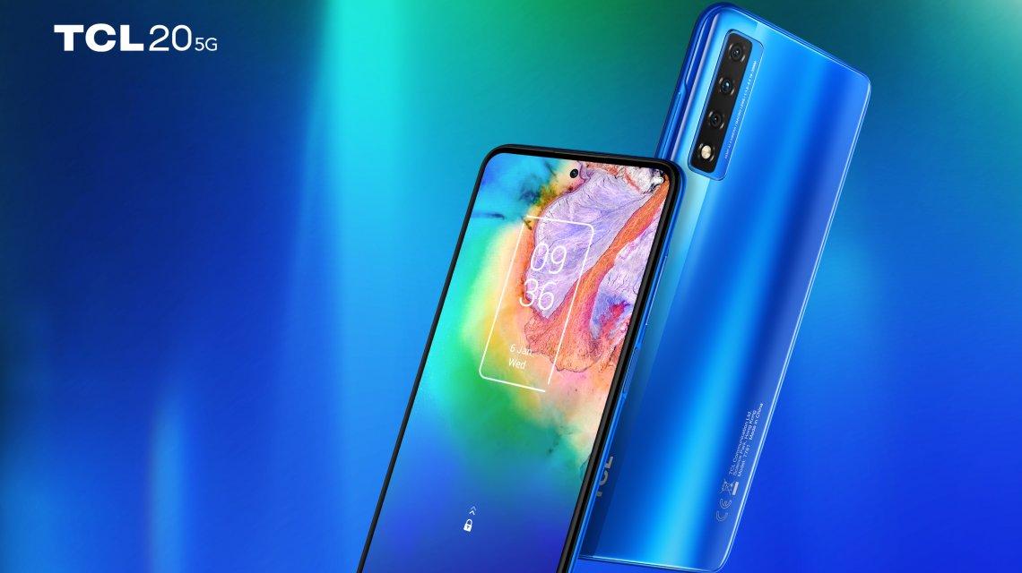 TCL20 5G, smartphone super connesso che può sorprendere