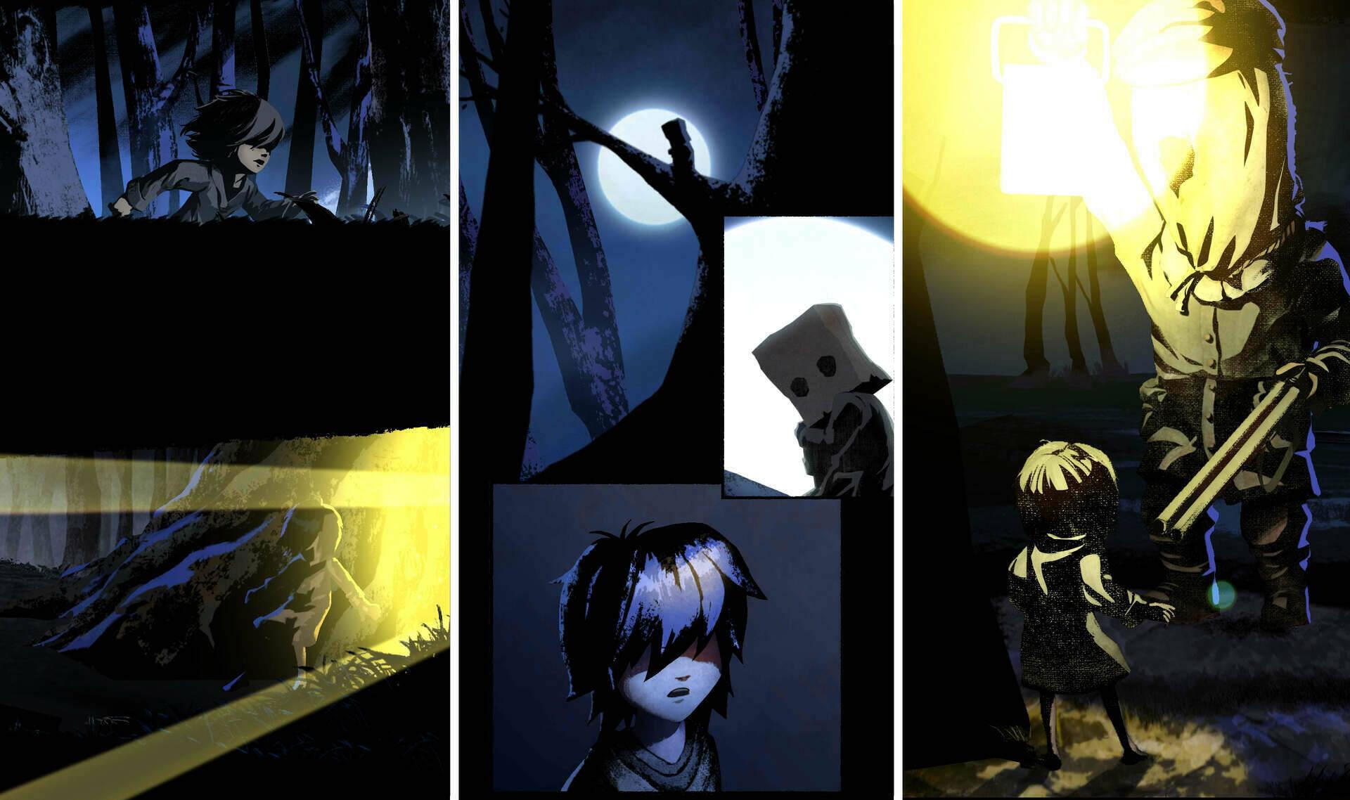 Little Nightmares II comic Six