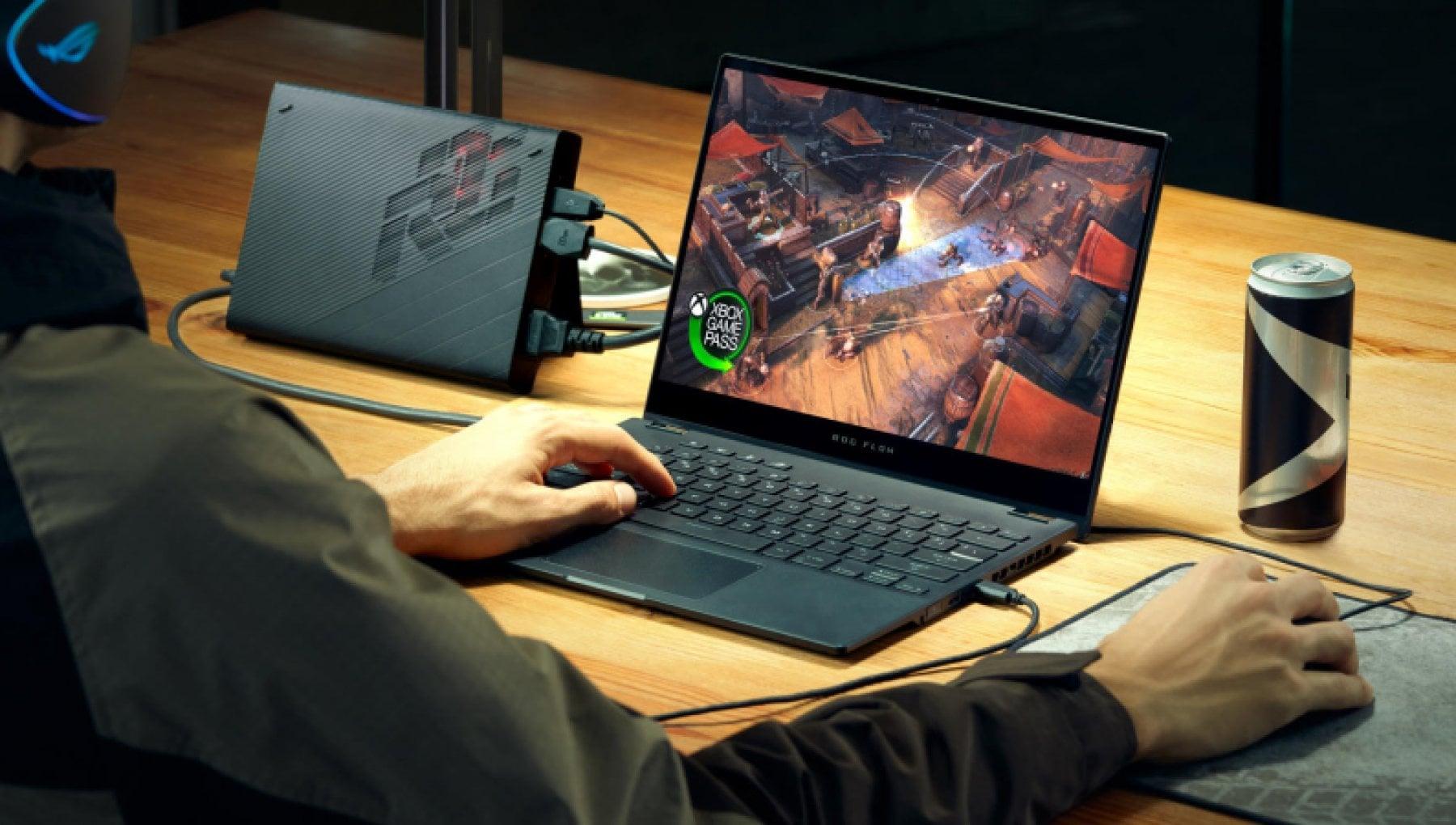 Asus ROG Flow X13, la sostenibile leggerezza per i videogiocatori