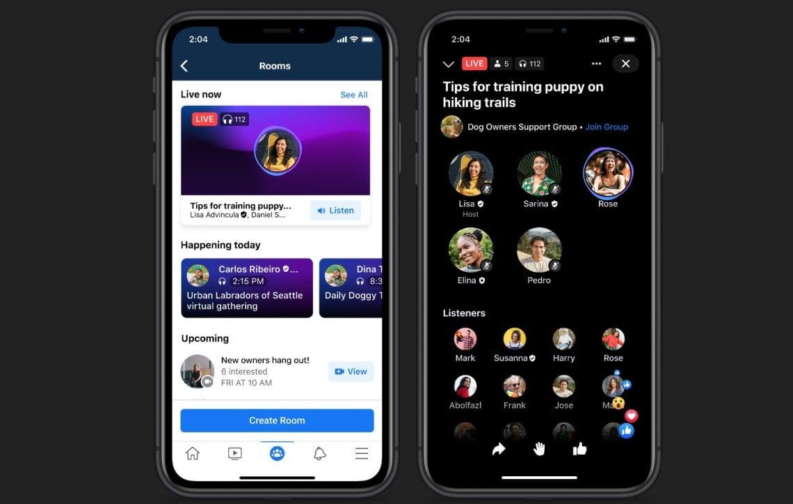 Facebook inaugura l'era della voce: da Soundbite alle Stanze in diretta, il nuovo ecosistema audio