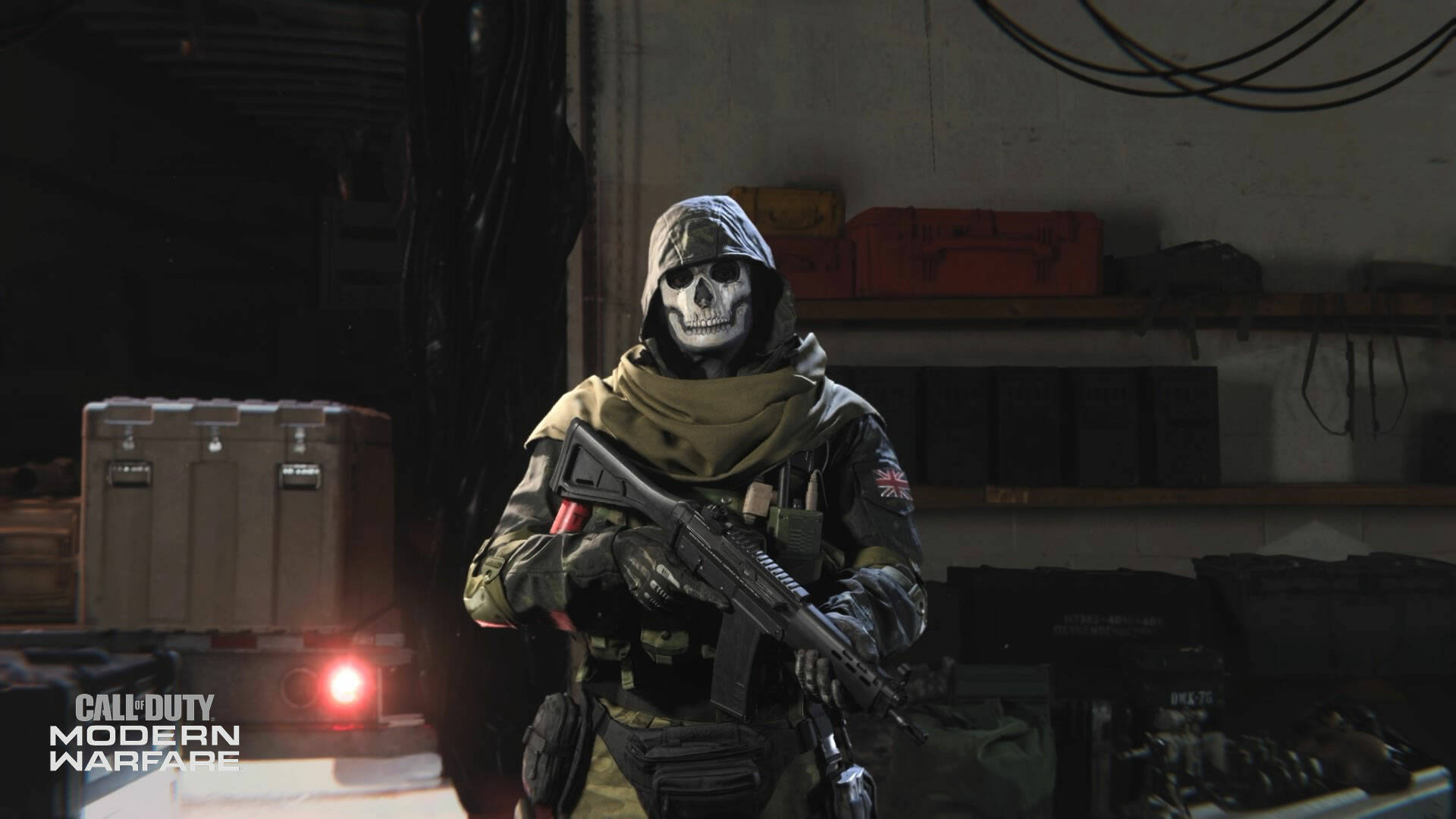 Call of Duty Warzone Ghost Operator