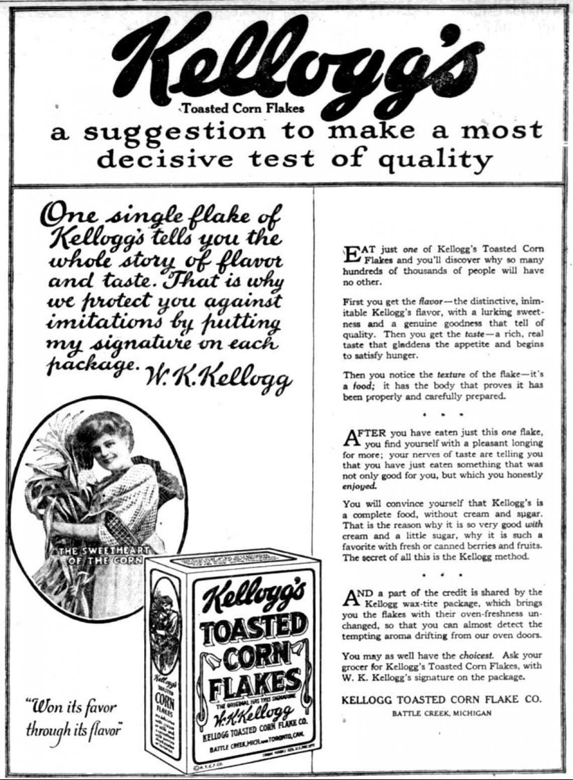 La rocambolesca invenzione dei corn-flakes che dovevano curarci dalle passioni