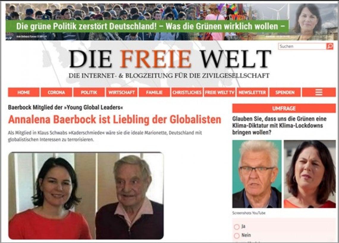 Elezioni federali in Germania, siti russi e di estrema destra prendono di mira i Verdi