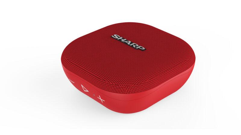 Il nuovo speaker Bluetooth GX-BT60 di Sharp è l'immancabile compagno di vacanze.